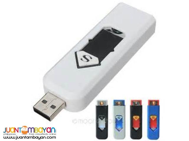 Rechargeable Flameless No Gas e-Lighter USB Lighter