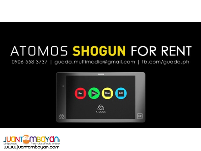 For Rent: Sony a7S | Atomos Shogun | Samyang Cine Lenses