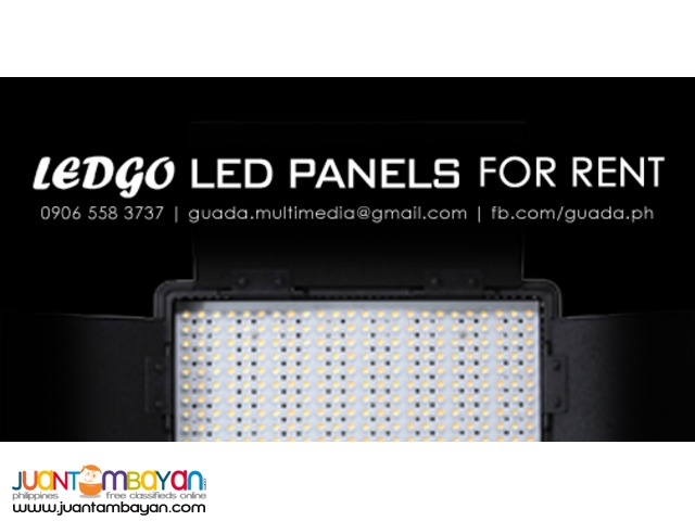 For Rent: LED Lights (LEDGO LED Panels | Blind Spot Scorpion Lights)