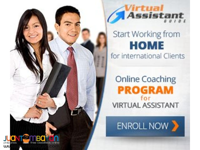 Work from Home as Virtual Assistant Training
