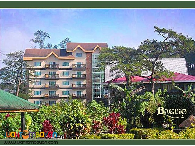 Baguio tour package, 2 nights, group of 4