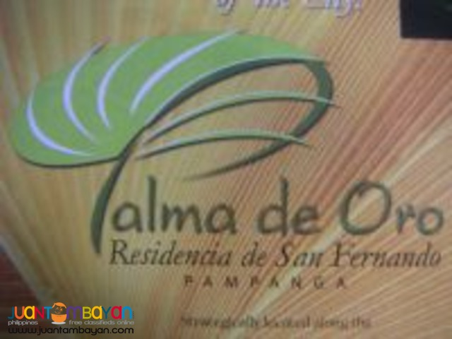 Residential Lot in San Fernando City, Palma De Oro