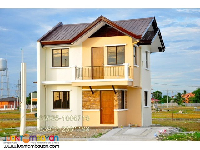 ISABEL MODEL house and lot for sale near NAIA