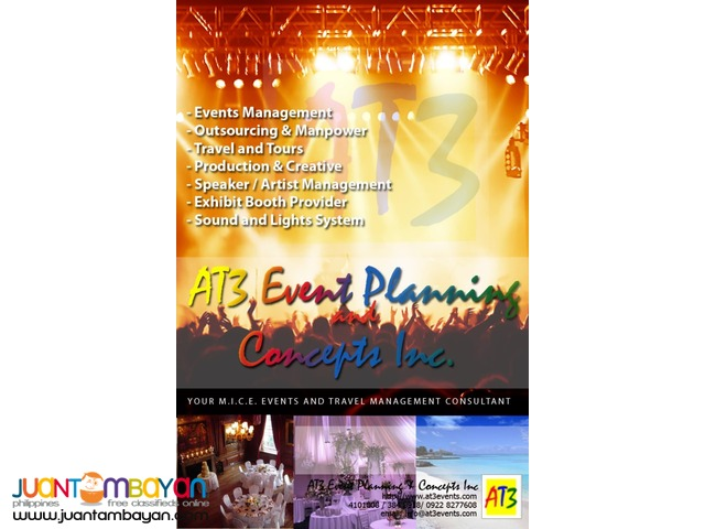 Event Management by AT3 Events
