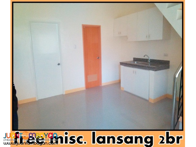 lansang house and lot free misc. w/2br near gatchalian las pinas