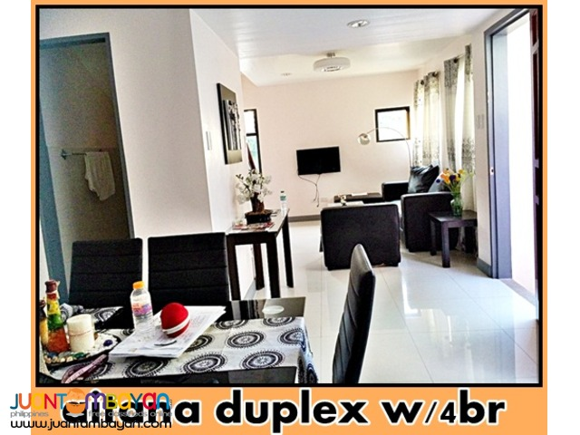 aitana duplex house and lot w/4br near pilar las pinas city
