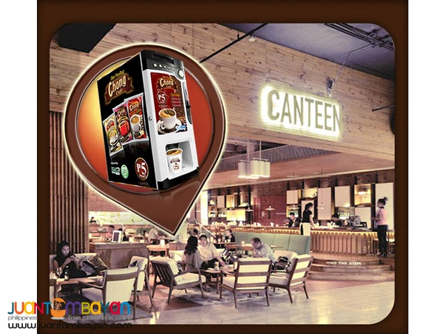 Chong Cafe Coffee Vendo Business Package
