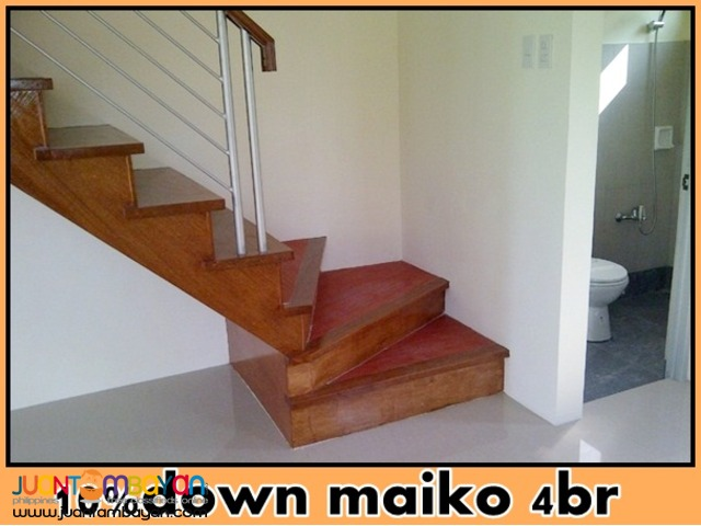 single attached maiko house and lot in pilar las pinas