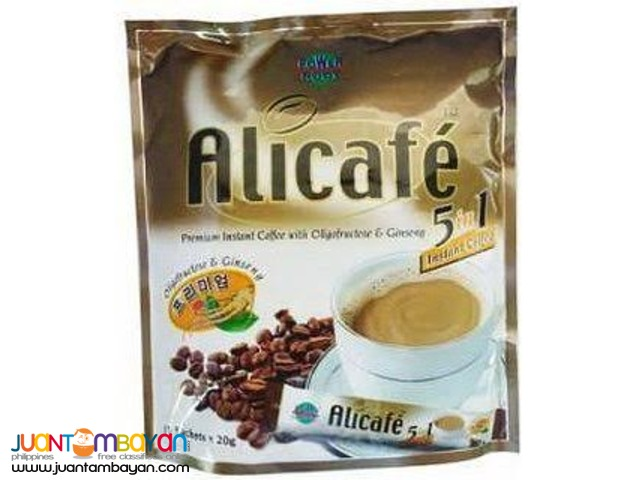Coffee Mix: 5in1 Coffee Mix, Tongkat Ali, Malunggay
