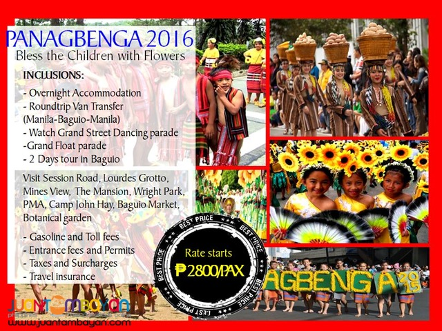PANAGBENGA: BLESS THE CHILDREN WITH FLOWERS