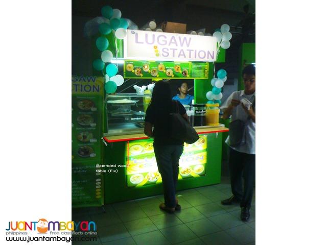 Siomai San lugaw station