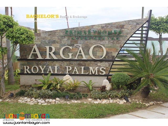 Argao Royal Palms Lombardy House Model