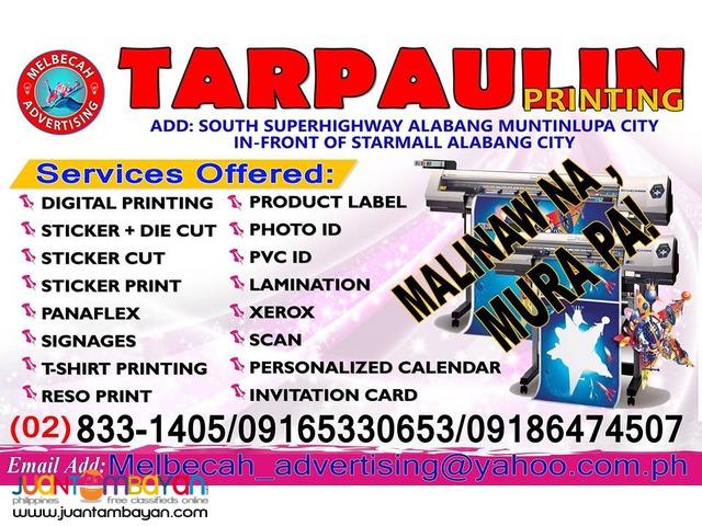 Tarpaulin Printing Election 2016 PROMO Muntinlupa
