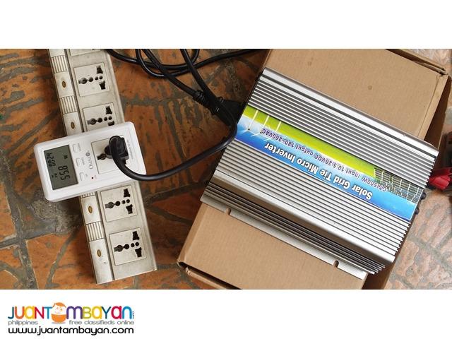 Solar Inverter 300Watt new plug in Mcro Grid Tied