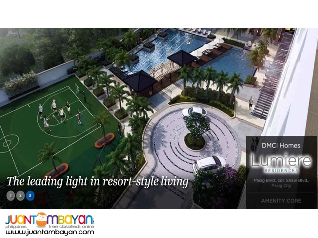 Affordable Condo in Pasig nr Ortigas CBD Lumiere Residences
