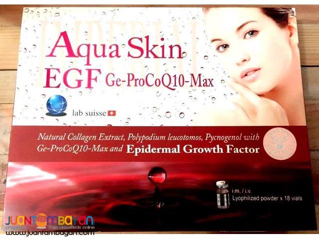 AQUA SKIN EGF IMPERIAL GE-PROCOQ10-MAX 18 VIALS