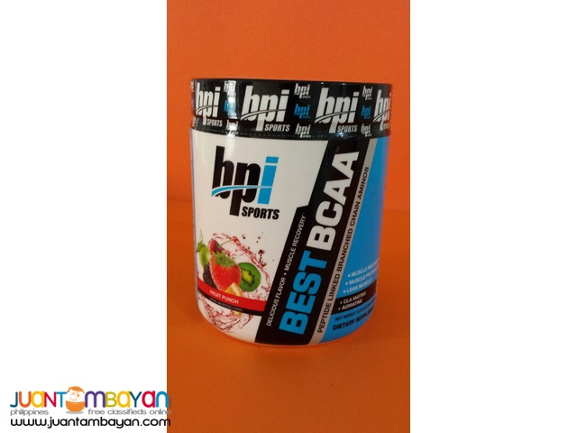 BPI Sports Best BCAA 30 s Fruit punch Free shipping