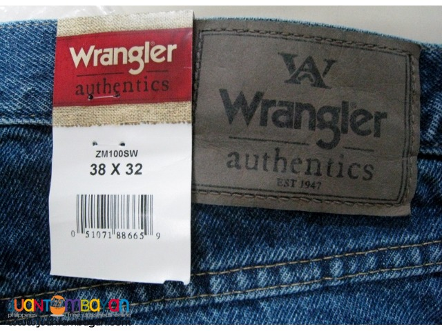 Wrangler Men's Authentics Classic Regular Fit Jean, Stonewash Dark