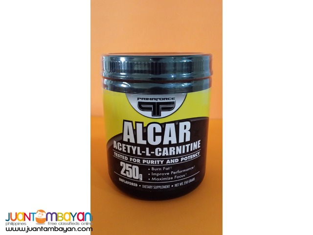 ALCAR Acetyl L Carnitine by Prima Force 250g 500s Free Ship