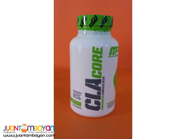 CLA Core from Musclepharm 1000mg 90 softgels Free ship