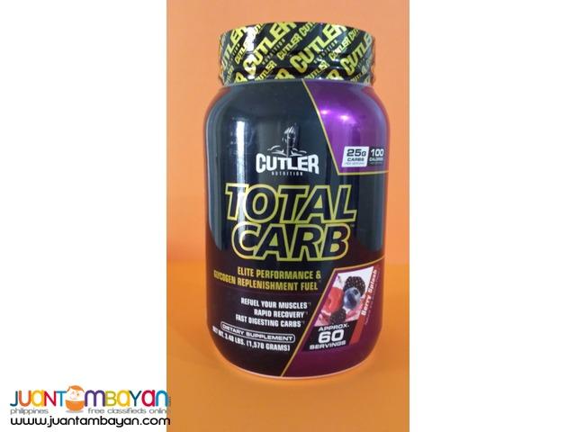 Total Carb Glycogen replacement  Cutler Nutrition 3,7 lb 60s