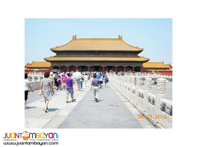 4D3N Beijing China Tour with Meals