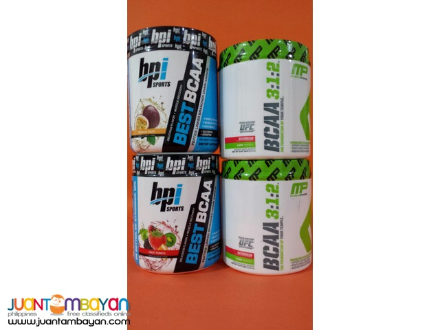 BCAA from MusclePharm & BPI Sports 30s Free shipping