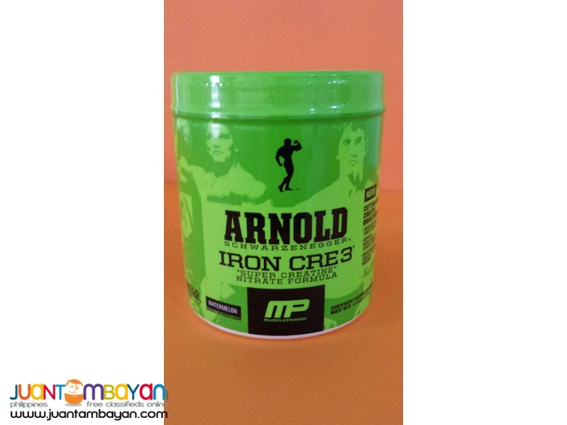 Arnold series: Iron CRE3 Creatine  30s Free Shipping