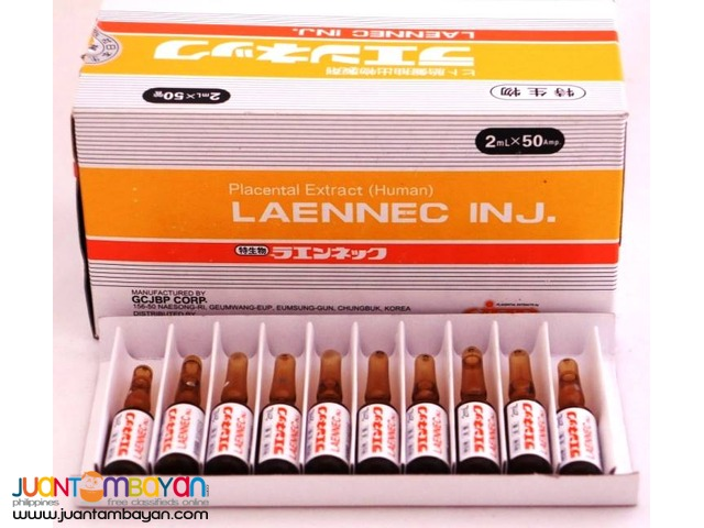 1 box of Laennec Human Placenta