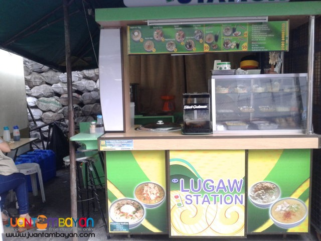 foodcart business, negosyong foodcart lugaw goto