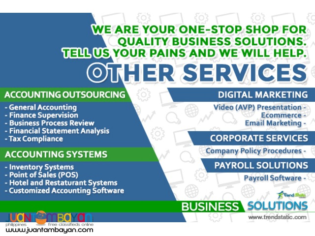TrendStatic Corp.: Business and IT Solutions Company
