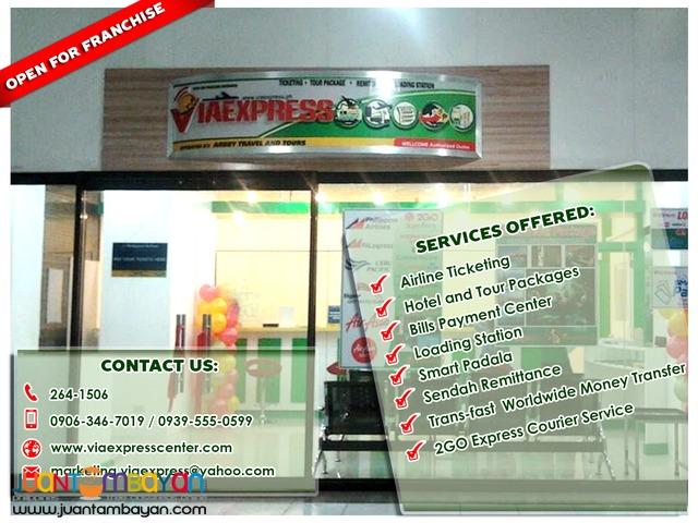 Patok na Negosyo sa 2016, Ticketing Center at Viaexpress Franchising
