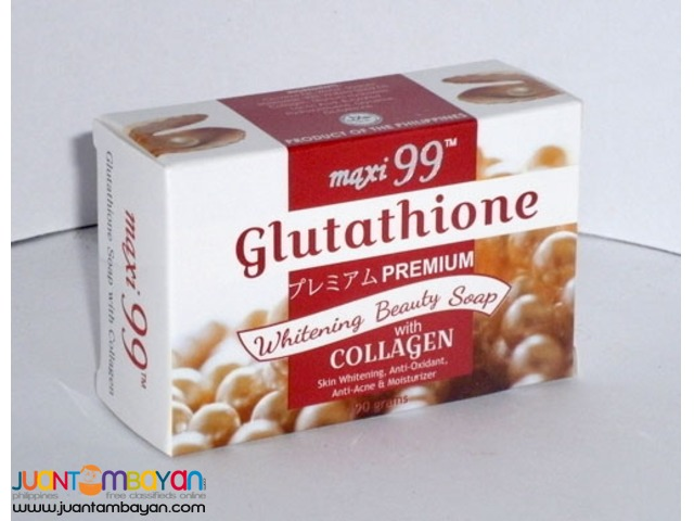 Glutathione Whitening Beauty Soap with Collagen