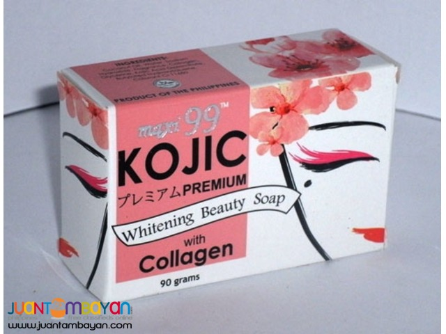 Kojic Whitening Beauty Soap with Collagen