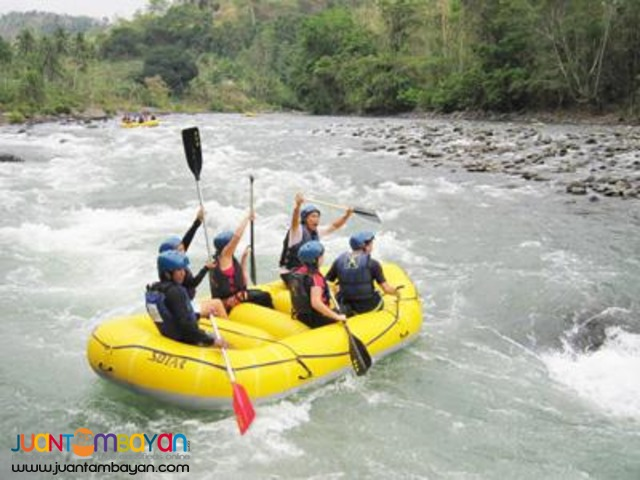 White Water Rafting CDO with Dahilayan Bukidnon