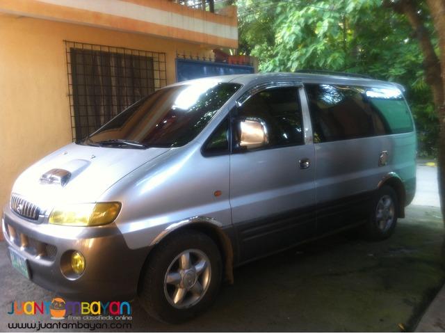 Camiguin Iligan CDO Bukidnon van rental services