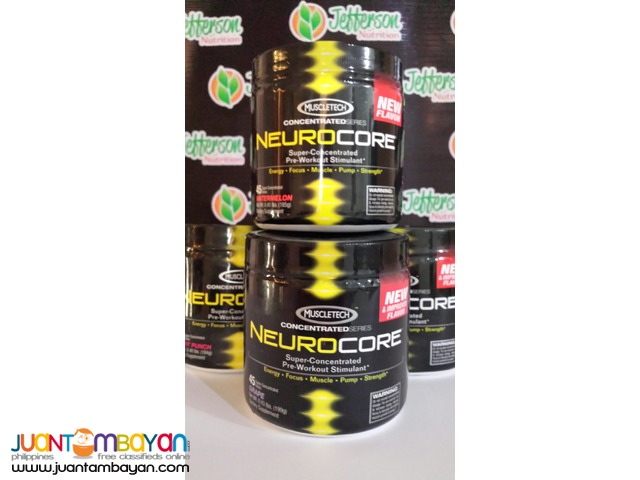 Neurocore 2nd Gen advanced new pre-workout 45s