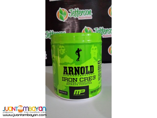 Arnold Series: Iron CRE3 Creatine Free Shipping