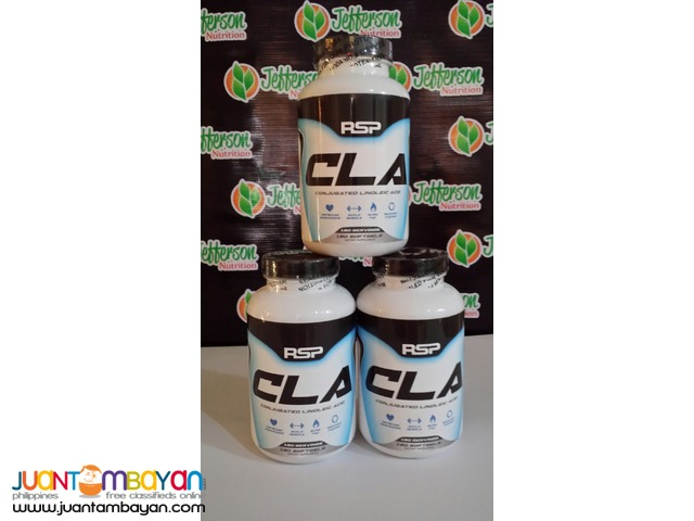RSP Nutrition:  CLA 1000mg/cap 180 softgels Freeship