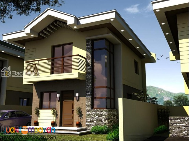 House Single Attached with 4 bedrms  in Liloan