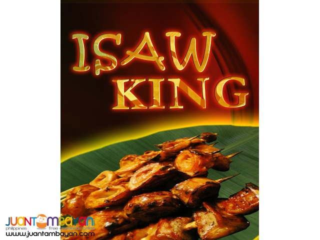 isaw , Isaw King, Fried Isaw food cart franchise , Business,