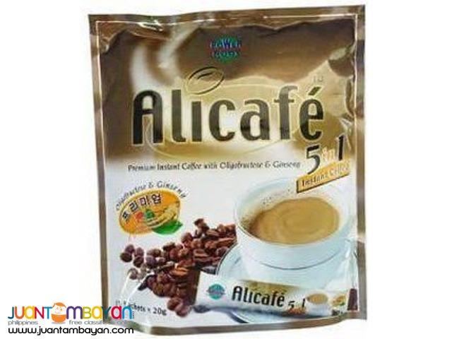 Coffee Mix: 5in1 Coffee Mix, Tongkat Ali, Malunggay