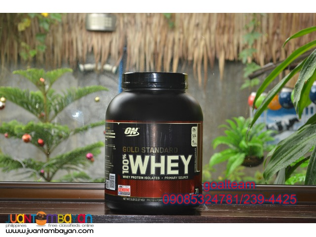 Gold Standard Whey protein 5lbs