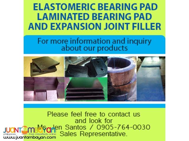 Elastomeric bridge bearing pad & Expansion Joint Filler
