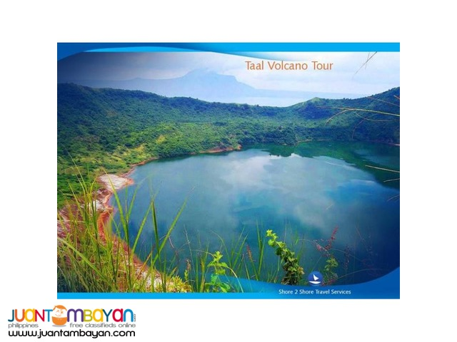 Amazing Adventure for 2 - Taal Volcano Tour