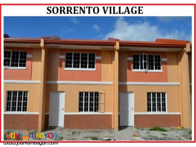 affordable house Pagibig Sorrento Village Rodriguez,Rizal near C6 Rd
