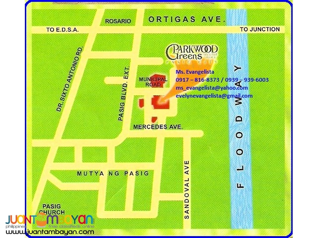 Res. Lot in Maybunga Pasig City - Parkwood Greens