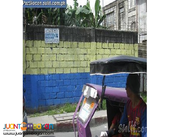 F.Soriano Pasig vacant lot for sale