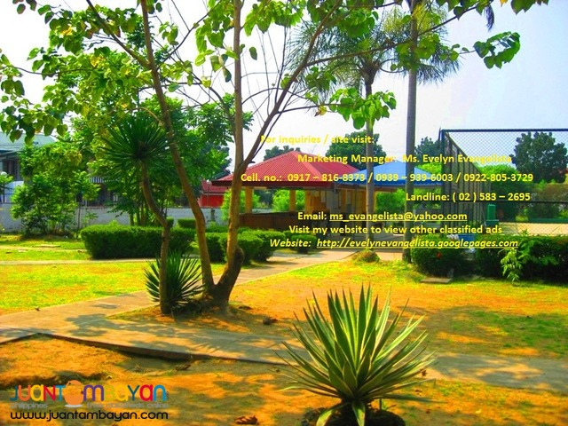 Res. Lot in Bacoor Cavite - Meadowood Exec. Village Phase 3B
