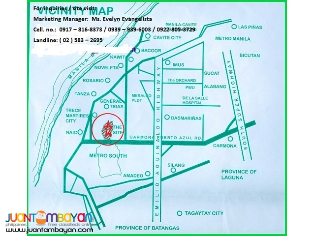 Res. Lot in Gov. Drive, Gen. Trias, Cavite - Metropolis Greens